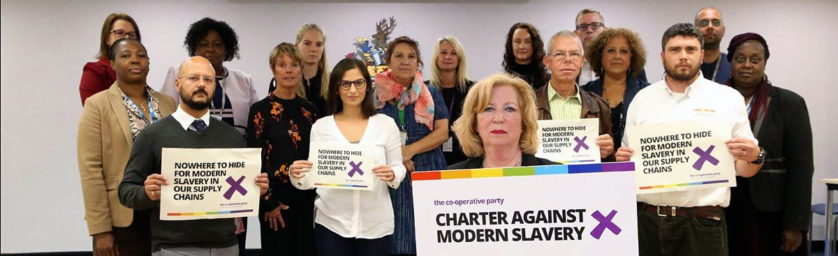Charter spells out zero tolerance to modern day slavery says Enfield council